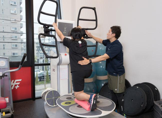 Workout IF+ 施設・設備